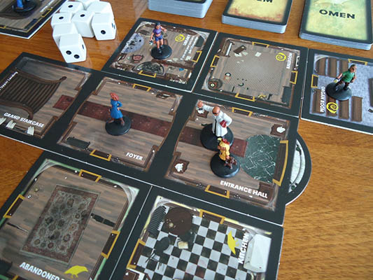 betrayal at house on the hill team board game
