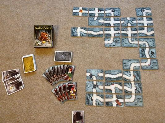 Saboteur Mayfair Edition Team Board Game