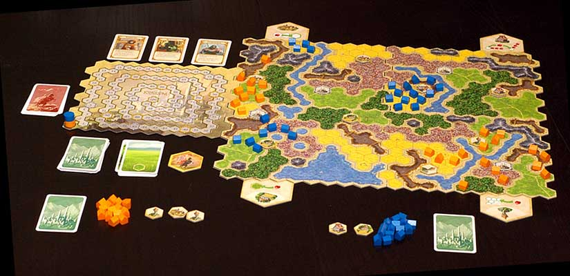 Kingdom Builder Team Board Game