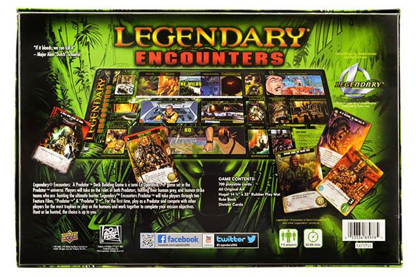 Legendary Encounters A Predator Deck Building Game Team
