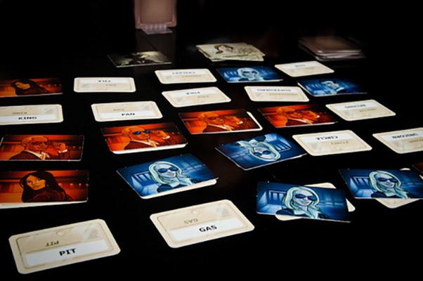 Codenames Team Board Game