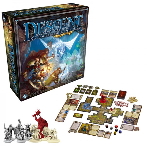 Descent Second Edition - How To Play - YouTube