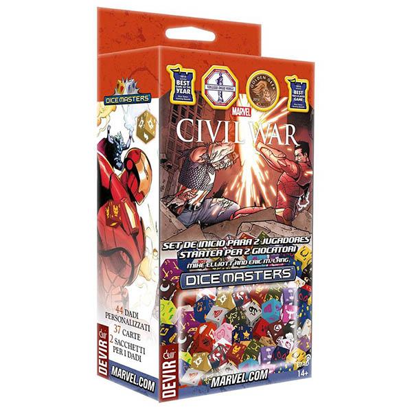 Marvel Dice Masters Civil War Starter Set Team Board Game