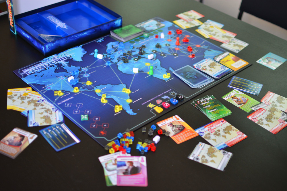 Pandemic 2013 Edition Team Board Game