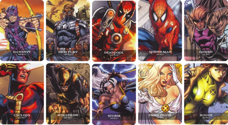 Legendary A Marvel Deck Building Game Team Board Game