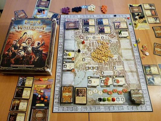 Lords of Waterdeep Review | Board Game Quest