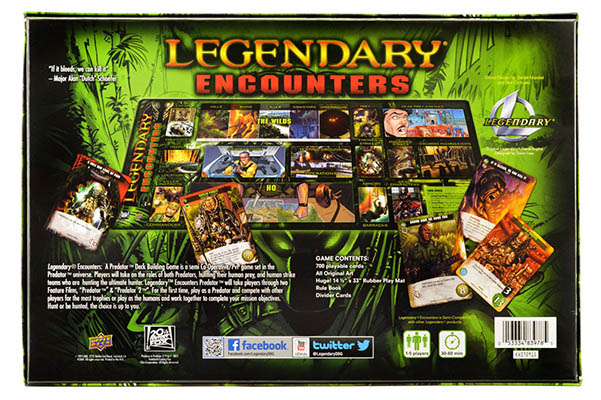 Legendary Encounters A Predator Deck Building Game Team