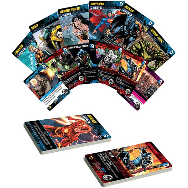 Dc Comics Deck Building Crisis Expansion