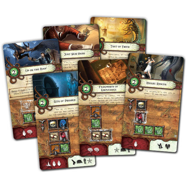 Elder Sign Unseen Forces Team Board Game