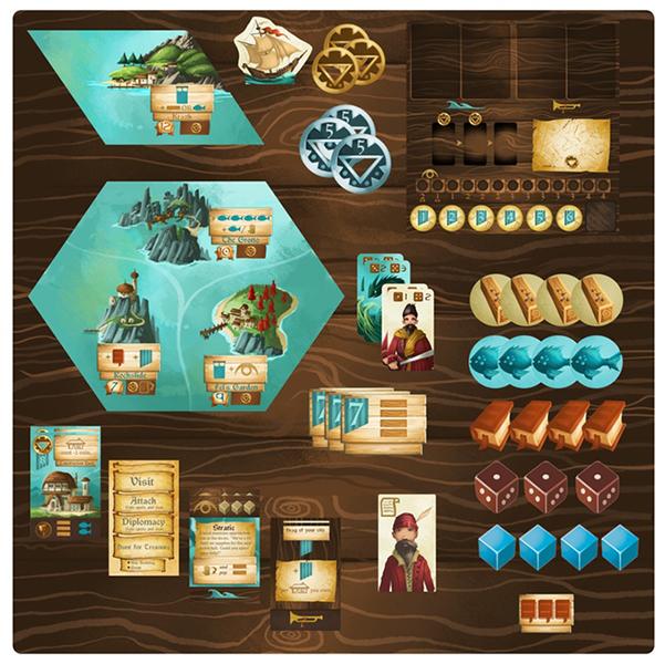 Islebound Team Board Game