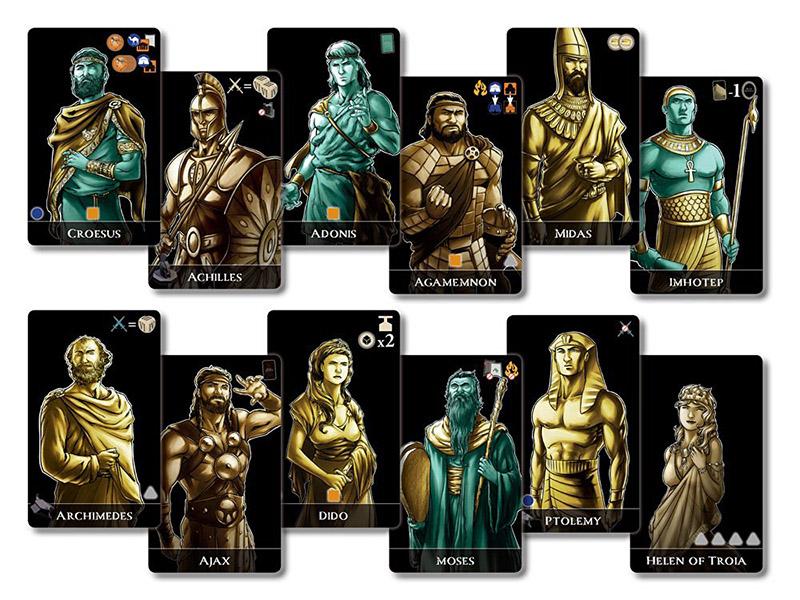 Mare Nostrum Atlas Team Board Game