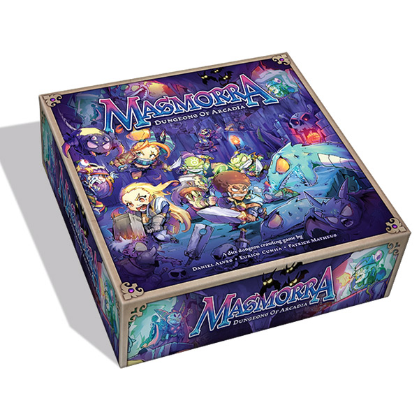Masmorra Dungeons Of Arcadia Team Board Game