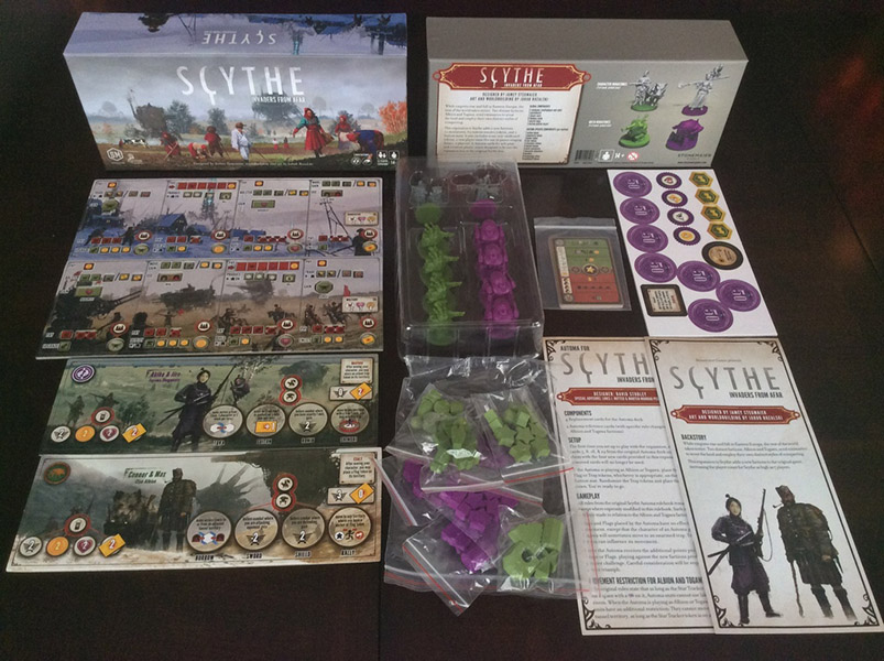 Scythe Invaders From Afar Team Board Game