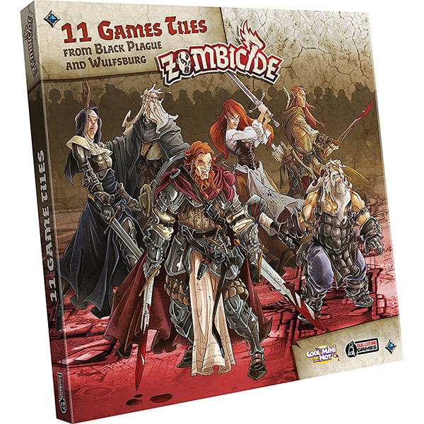 Zombicide Bp Extra Tiles Pack Team Board Game