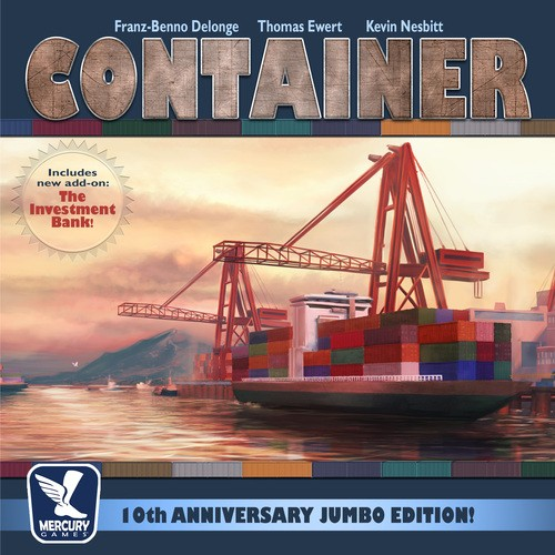 Container 10th Anniversary Jumbo Edition Team Board Game