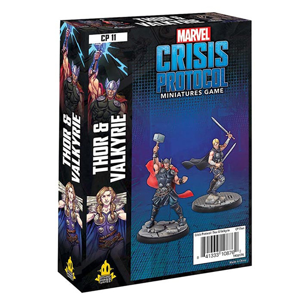 Marvel: Crisis Protocol - Thor & Valkyrie Character Pack | Team Board Game
