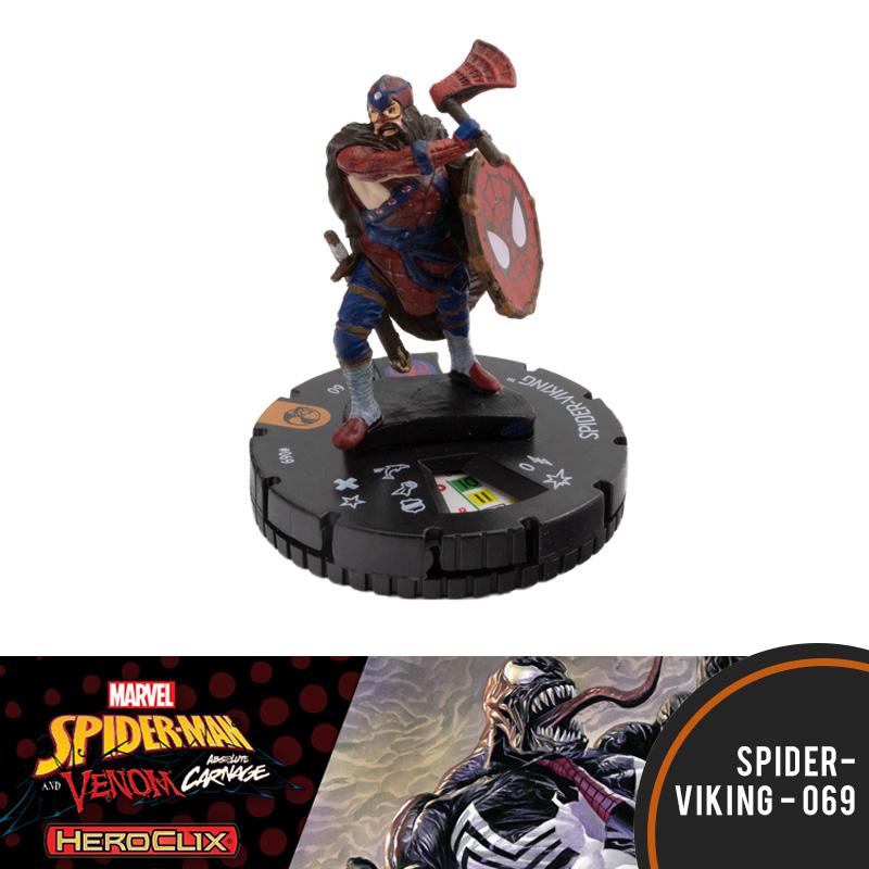 Heroclix Marvel Spider-Man and Venom 069 Spider-Viking